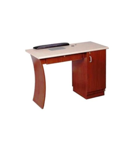 Kaemark reflections vented nail table w vent mid for Nail table with vent