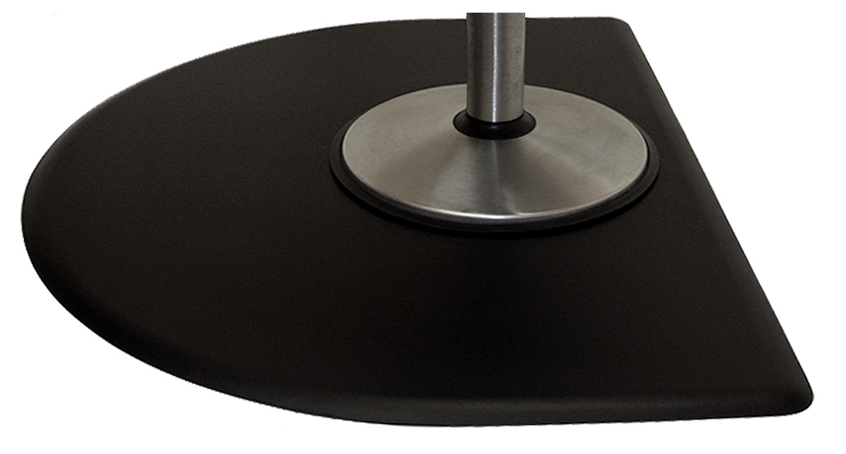 Therapeutic Anti-Fatigue Mats - Tranquility Series Half Round 4' x 5' Mat #5040CNT