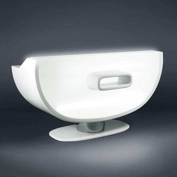 gamma bross komplete receptionist desk. Black Bedroom Furniture Sets. Home Design Ideas