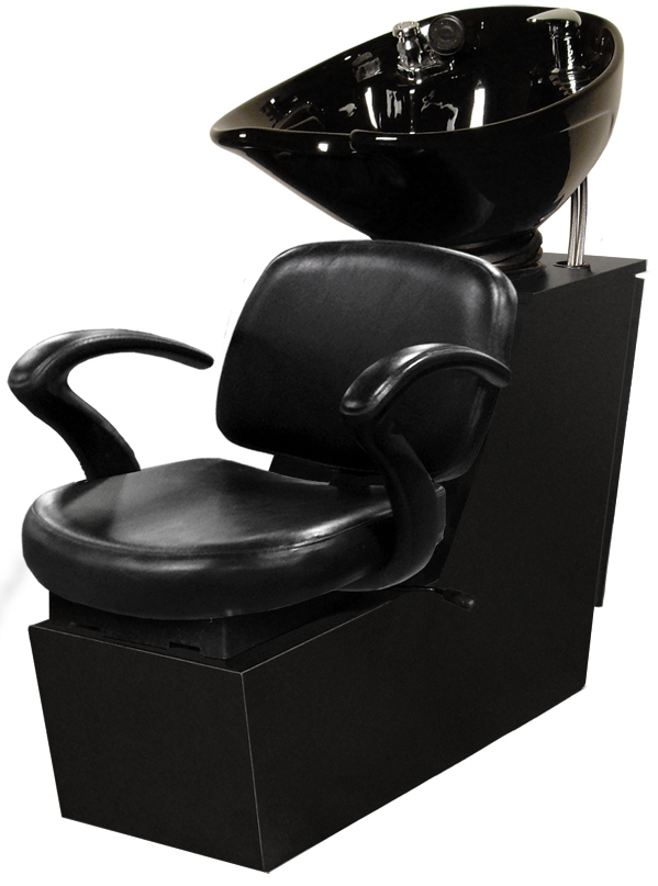Jeffco - Cella Backwash Shuttle Unit w/ 8700 Tilting Porcelain Bowl