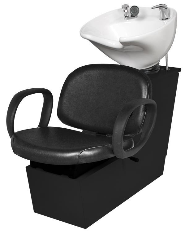 Jeffco - Contour Backwash Shuttle Unit w/ 8700 Tilting Porcelain Bowl