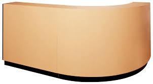 """Kaemark - Ellipse Right Return Desk System - Configuration """"B"""" EP-40-B/"""