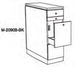 Takara Belmont - Koken Millennia Illusion Back-to-Back Styling Cabinet
