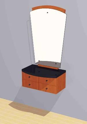 Mac - Styling Station w/ Mirror #1005