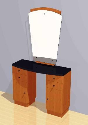 Mac - Styling Station w/ Mirror #1009