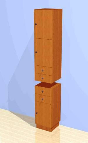 Mac - Vertical Storage Cabinet #1001
