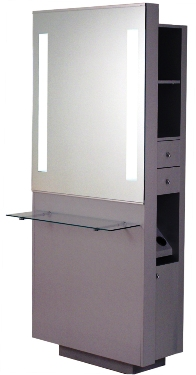 Belvedere - Opal Single with Shelf