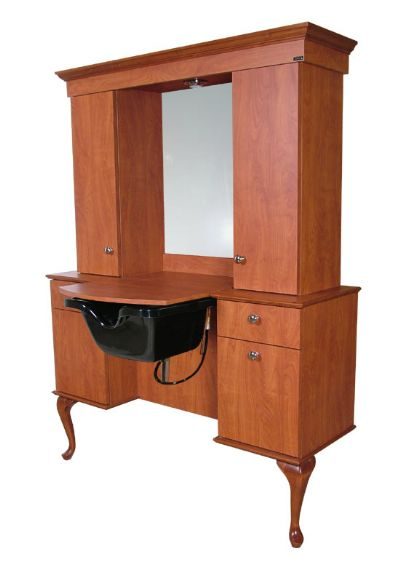Collins - Bradford Wet Booth Vanity #879-54