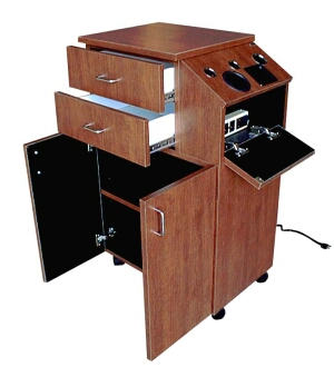 Collins - Deluxe 39Hi Portable Styling Station