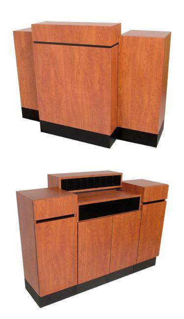 Collins - Reve Standing Reception Desk
