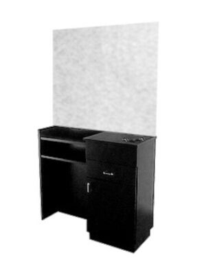 Collins - Styling Station with Double Purse Ledge