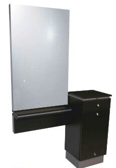 Collins - NEO Styling Station with Mirror Frame and Mirror
