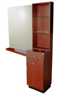 Collins - QSE Tower Styling Station with Tapered Counter