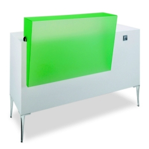Gamma Bross - Saleya Plexi 140 Receptionist Desk