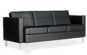 Global - Citi Three-Seat Sofa w/ Fixed Cushions (Grade 7)
