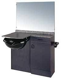 Kaemark - A La Carte Wet Station with Rectangular Mirror LC-248A