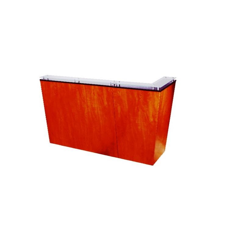 "Kaemark - Javoe 2-Piece Left Hand L Desk System - Configuration ""C"" J-40-C/"