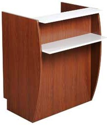 Kaemark - Luminesse Stand Up Podium Reception Desk LA-240