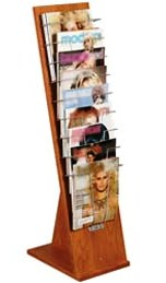 Kaemark - Reflections Plus Magazine Rack RP-221
