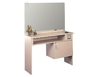 Kaemark - Single Styling Station with Cabinet #115 (Educational Equipment)