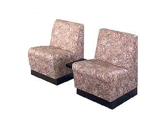 Kaemark - Two Reception Chairs with Table P-68-2T