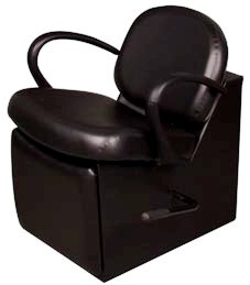 Kaemark - Volante Shampoo Chair with Leg Rest V-63
