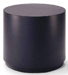 Mac - Plinth Cylinder Table