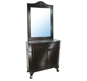 Mac - Single Sided Mirror Station #K7002