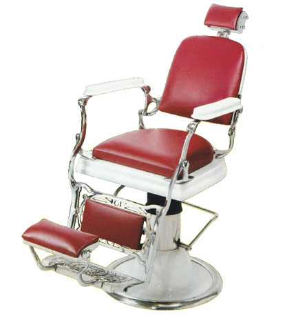 Pibbs - Antigua Hydraulic Barber Chair with 1607 Base