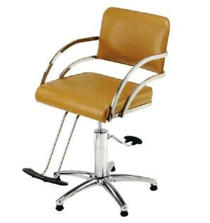 Pibbs - Davinci Series Styling Chair - Star Base/T-Footrest