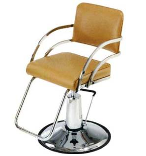 Pibbs - Davinci Series Styling Chair - Tubular Footrest