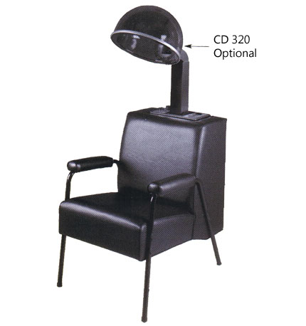 Pibbs - Dryer Chair with Upholstered Arms