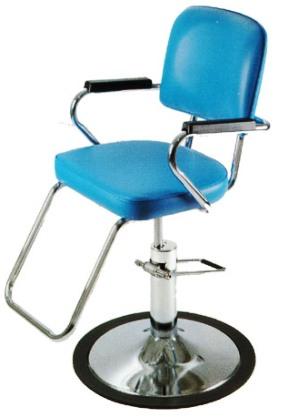 Pibbs - Paris Series Hydraulic Styling Chair - American Slim - Plastic Armrest