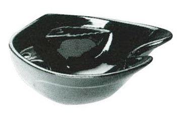 """Pibbs - Prince Ceramic Sink """"Black"""""""