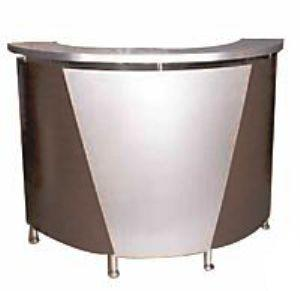 "Pibbs - Reception Desk Curved 60"" x 42"""