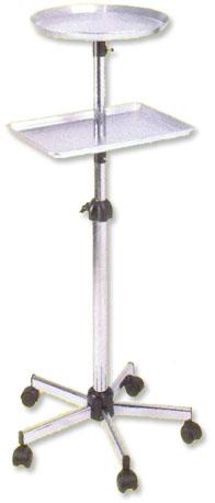 Pibbs - Round Metal Mayo tray with Shelf