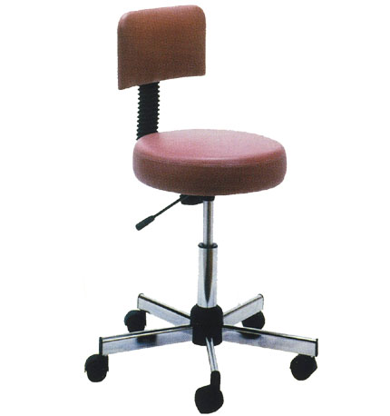 Pibbs - Round Seat with Thick Cushion with Backrest