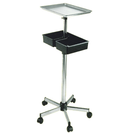 Pibbs - Metal Mayo Utility Tray with Adjustable Shelf