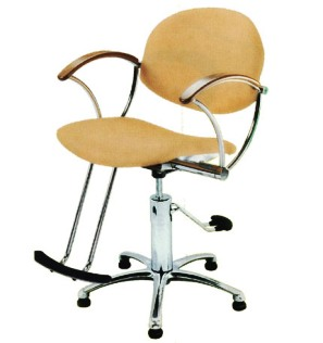 Pibbs - Sharon Series Hydraulic Styling Chair with Chrome Star Base