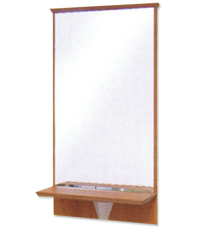 Pibbs - Shelf and Frame with Mirror Sold Separately in Wild Cherry Only