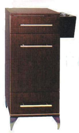 Pibbs - Styling Cabinet w/ Accessory Holder