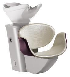 Salon Ambience - Amber Comfortwash Grey Frame - White Bowl