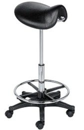 Savvy - Lily Hair Cutting Saddle Stool #SAV-015-B