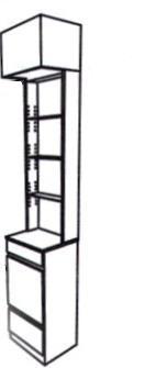 Takara Belmont - Koken Portfolio Technica Styling Unit End Tower