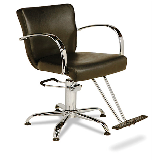 Veeco - Emily Hydraulic Styling Chair (Black Only)