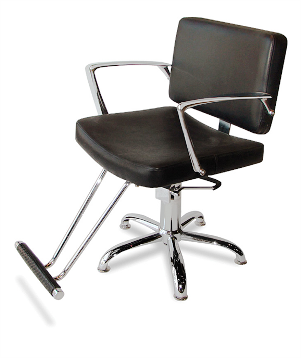 Veeco - Equinox Hydraulic Styling Chair (Black Only)