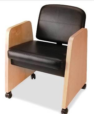 Veeco - Image Backwash Shampoo Chair w/ Wood Arms