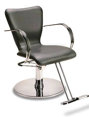 Veeco - Jacqui Hydraulic Styling Chair (Black Only)
