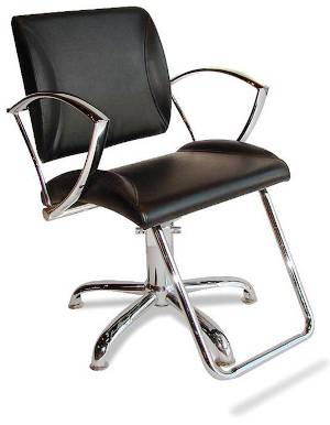 Veeco - Lauren Hydraulic Styling Chair (Black Only)