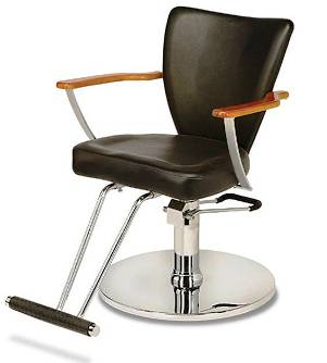 Veeco - Marcy II  Hydraulic Styling Chair on Jacqui Base (Black Only)